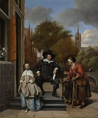 Adolf and Catharina Croeser, Known as 'The Burgomaster of Delft and his Daughter'