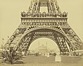 Adolphe Block, Paris - Base de la Tour Eiffel et le Trocadéro, about 1889.jpg