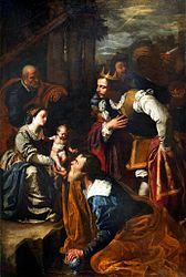 Artemisia Gentileschi: Adoration of the Magi
