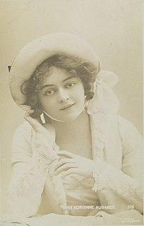 Adrienne Augarde English actress and singer