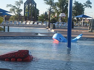 Liberal, Kansas - Adventure Bay water park in Liberal (2010)