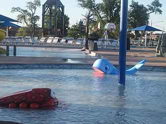 Liberal, Kansas - Liberal's Adventure Bay water park in 2010.
