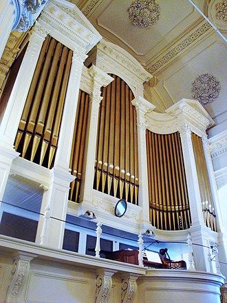 Aeolian-Skinner - Æolian-Skinner organ in Arlington Street Church, Boston, Massachusetts