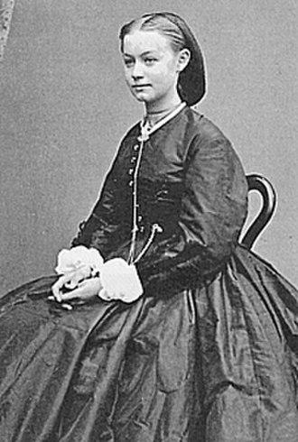 Agathe Backer Grøndahl - Agathe Backer Grøndahl, ca. 1870.
