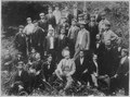 Aguinaldo (seated 3d from right) and other Insurgent leaders., ca. 1900 - NARA - 542446.tif