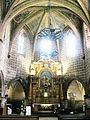 Aignan Église Saint-Jacques de Fromentas maître-autel.JPG