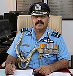 Air Marshal Rakesh Kumar Singh Bhadauria taking charge as the Vice Chief of the Air Staff, in New Delhi on May 01, 2019.jpg