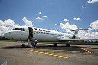 Air Niugini Fokker 100 Mt Hagen PNG.jpg