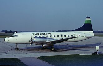 Great Lakes Airlines (Canada) - Convair 580 in 1983