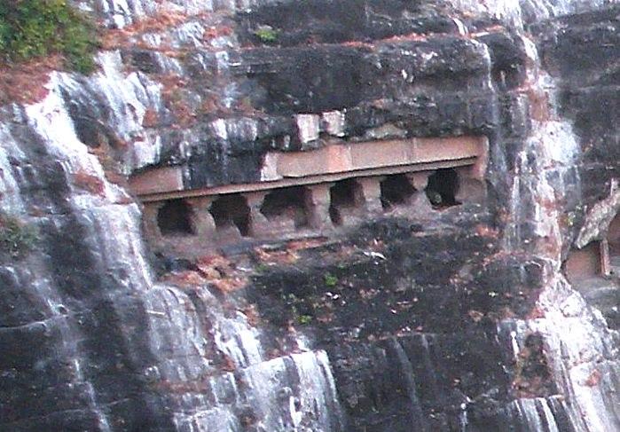 Ajanta Cave 28 exterior