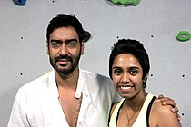 Ajay Devgn visits The Hive Gym to promote 'Bol Bachchan' 02.jpg