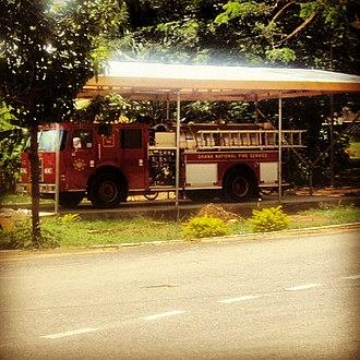Akosombo - Image: Akosombo fire station