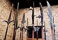 Alabarde - Museo di Castelvecchio Verona.jpg