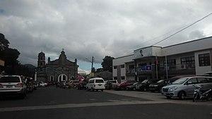 Alaminos, Laguna - Image: Alaminos church and town hall