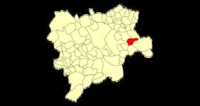 Albacete Bonete Mapa municipal.png