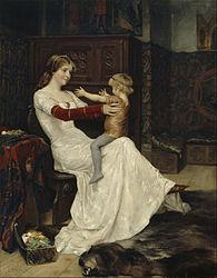 Albert Edelfelt: Drottning Blanka