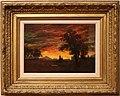 Albert bierstadt, accampamento indiano al tramonto, 1872 ca.jpg
