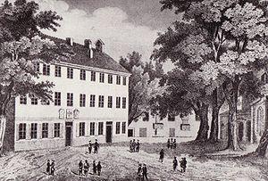 University of Königsberg - Collegium Albertinum, c. 1850