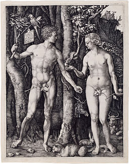 Albrecht Dürer, Adam and Eve, 1504, Engraving