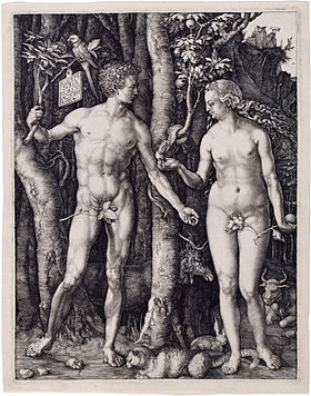 Albrecht Dürer, Adam and Eve, 1504, Engraving.jpg