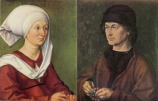 Portrait Diptych of Dürer's Parents