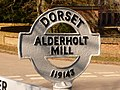 Alderholt, detail of Alderholt Mill finger-post - geograph.org.uk - 1741274.jpg