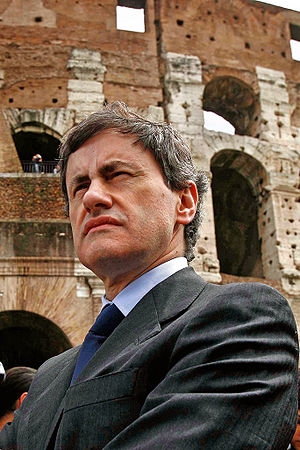Rome municipal election, 2013 - Image: Alemanno Colosseo