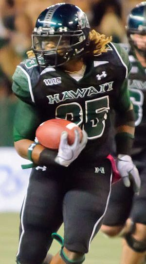Alex Green - Green with Hawaii in 2010
