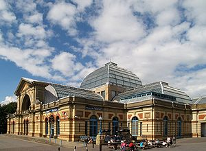 MTV Europe Music Award - Alexandra Palace in London, venue in 1996.
