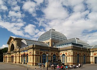 Alexandra Palace - Exterior view of the west wing (c.2008)