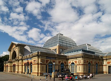 Alexandra Palace in London, venue in 1996. Alex palace1.jpg