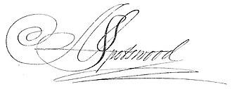 Alexander Spotswood - Image: Alexander Spotswood (signature)