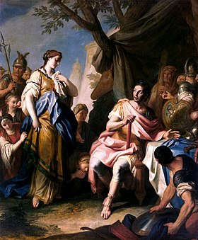 Alexander The Greate and Roxane by Rotari 1756.jpg