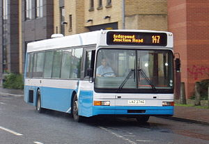 Volvo B10L - Diesel-engined B10L with Alexander Ultra bodywork in the Ulsterbus fleet
