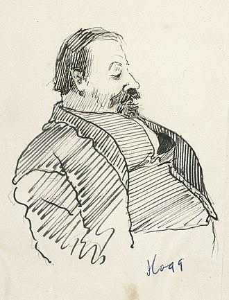 Alexander Hogg - Alexander Wilson Hogg caricature, 1896