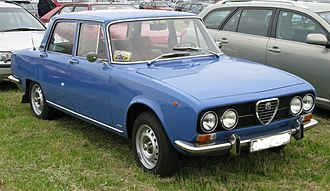 Alfa Romeo 1750 Berlina - Alfa Romeo 2000 Berlina