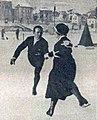 Alfred Berger et Helene Engelmann, champions olympiques de patinage en 1924 à Chamonix.jpg