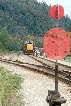 Algoma Central Railway - Agawa Canyon, 1988
