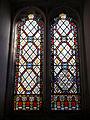 All Hallows Church Tottenham Haringey England - south porch window.jpg