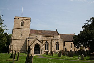 Ruskington - Image: All Saints' church, Ruskington, Lincs. geograph.org.uk 166165