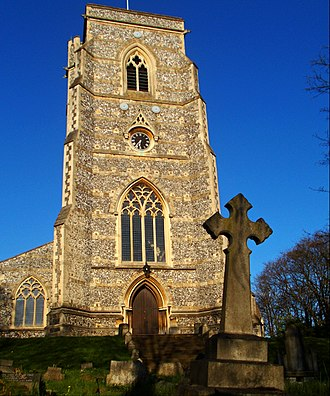 All Saints Church, Benhilton - Image: All Saints Church, Benhilton, SUTTON, Surrey, Greater London