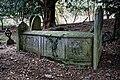 All Saints Church, Berners Roding, Essex external tomb chest 01.jpg