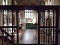 All Saints Church, Middle Claydon, Bucks, England - rood screen and chancel.jpg