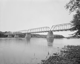 National Register of Historic Places listings in Northumberland County, Pennsylvania - Image: Allenwood River Bridge