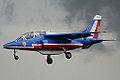 Alpha Jet Patrouille de France (3871126330).jpg