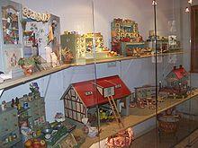 Domki dla lalek w Domu Bajek w Alsfeld