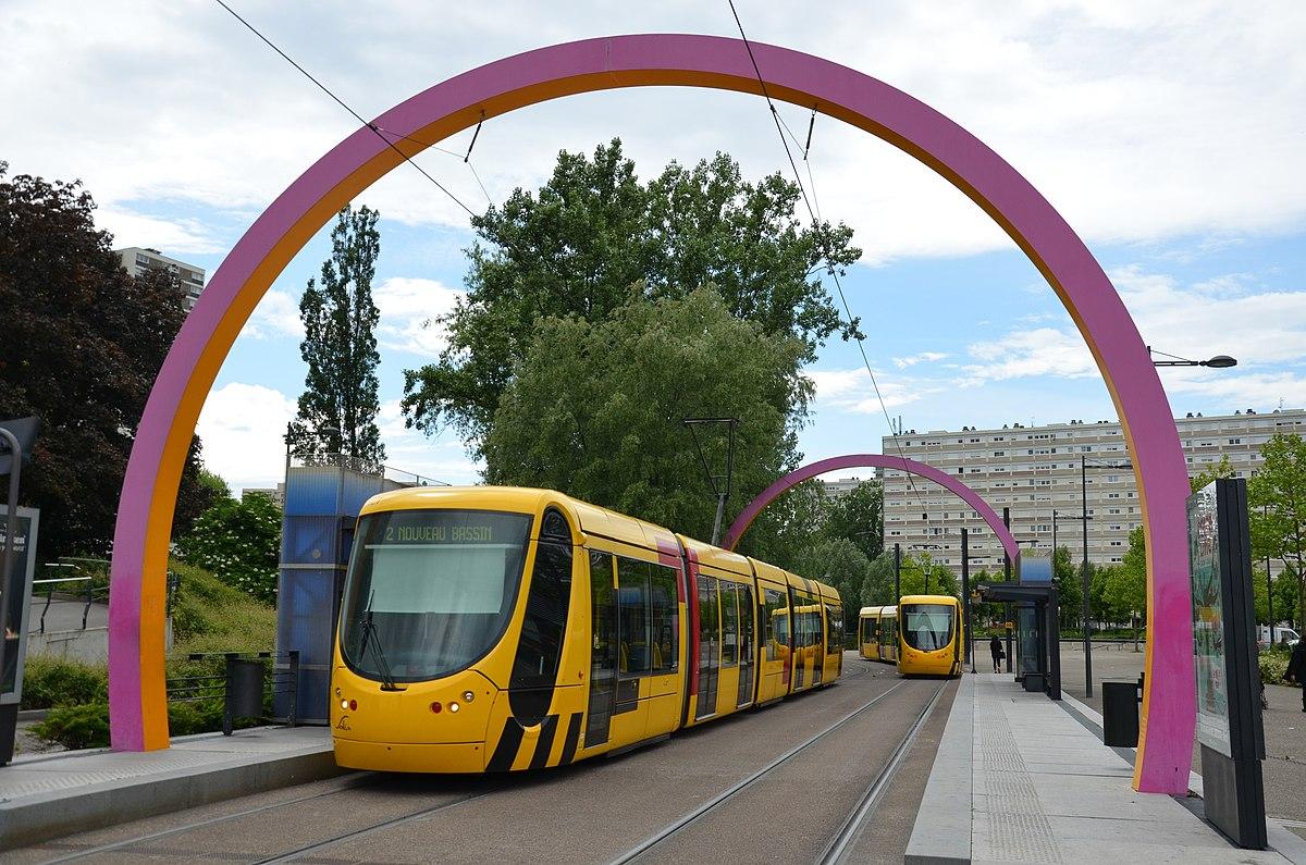 Ligne 2 du tramway de mulhouse wikip dia - Mulhouse habitat porte du miroir ...