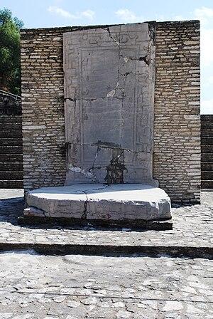 Great Pyramid of Cholula - Altar