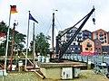 Alter Hafenlastenkran am Museumshafen aus dem Jahre 1921.jpg