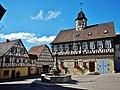 Altes Rathaus, angeblich 1575 erbaut - Gasthaus zum Rappen, 1781 von Amtmann Klein gekauft. - panoramio.jpg